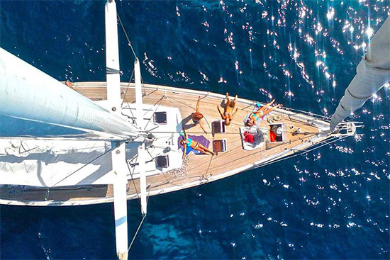 Sailing Yacht Charter Holidays in Italy