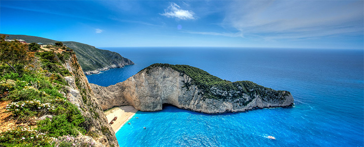 Zakynthos. Sailing holidays in Greece