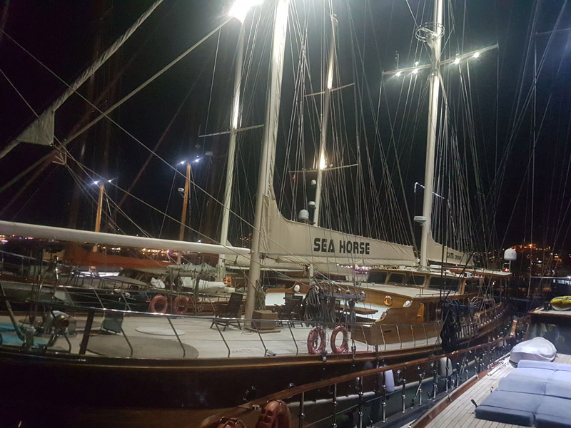 "Motor Sailer ""SEAHORSE"" available for charter 2017 – 2018 in Turkish and Hellenic waters"