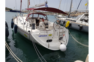 "Gib Sea 43 ""Lefkakia"" Sailing Yacht Charter Greece"