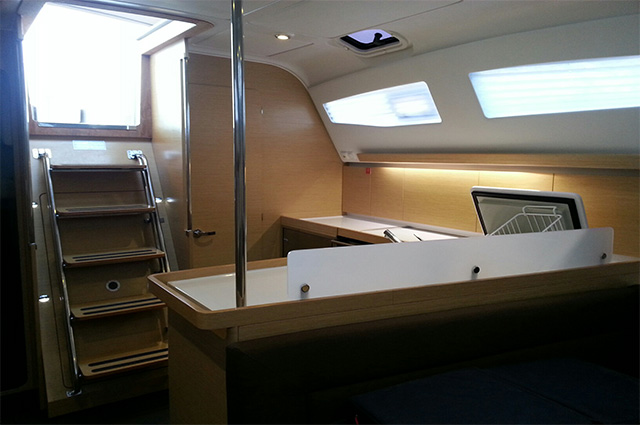 "Elan i45 ""Mousiki"" Sailing Yacht Charter Greece"