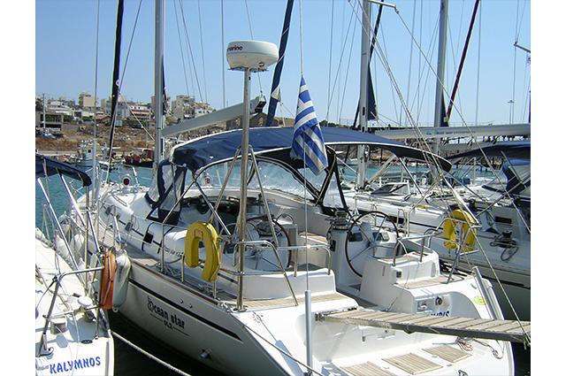 "Ocean Star 512 ""Palamidis Again"" Sailing Yacht Charter Greece"